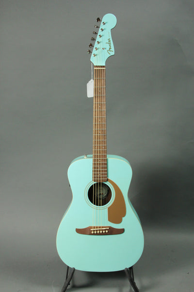 Fender Malibu Player Acoustic Guitar - Aqua Splash