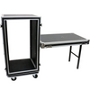 Other 20U Shock case with casters and utility table - SC20U20SL | Palen Music