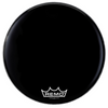 "Remo 20"" Powermax 2 Ebony Crimplock Marching Bass Drum Head 