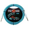Pig Hog 10ft Vintage Inst Cable - Daphne Blue | Palen Music