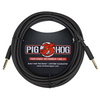 Pig Hog 20' Black Woven Inst Cable | Palen Music