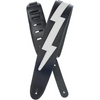 Planet Waves Icon Lightning Leather Strap | Palen Music