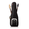 Mono Dual Jet Black Bass Guitar Case
