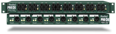 Radial 8-Channel Passive Direct Box | Palen Music