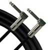 Rapco Horizon 20' Instrument Cable - 2 Right Angle Plugs