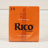 Rico by D'Addario RCA1025 #2.5 Bb Clarinet Reeds - Box of 10