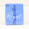 Royal Bb #2.5 Clarinet Reeds - Box of 10