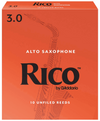 Rico Alto Sax Reeds, Box of 10, Strength 3 | Palen Music