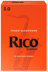 Rico Tenor Sax Reeds, Box of 10, Strength 3 | Palen Music