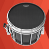 "Remo 14"" Black Max Marching Snare Drum Head 