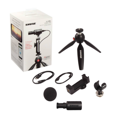 Shure MV88 Plus (Video Kit) MV88P | Palen Music