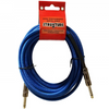 Strukture Woven Blue 18.6' Instrument Cable | Palen Music