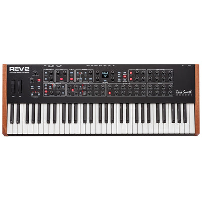 Sequential Rev 2 61-Key, 8 voice analog synthesizer bundle w FREE gear from Palen Music! | Palen Music