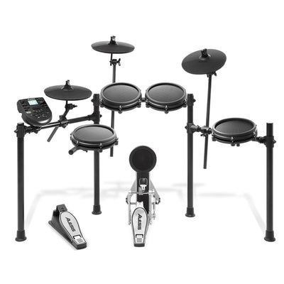 Alesis Nitro Mesh Kit-eight-Piece Electronic Drum Kit with Mesh Heads