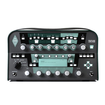 Front View Kemper Profiler Head - Black