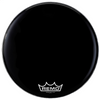 "Remo 18"" Powermax 2 Ebony Crimplock Marching Bass Drum Head 