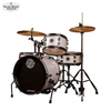 Ludwig Questlove 4-Piece Pocket Kit (Silver Sparkle)