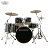 Ludwig Evolution Maple 6pc Shell Pack (Trans Black)