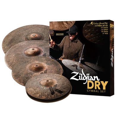 K Custom Dry Cymbal Set | Palen Music