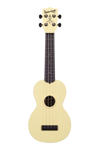Soprano Waterman Ukulele by Kala (Pale Yellow Matte)