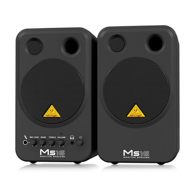 Behringer MS16 Active Monitor (Pair) - pmc.palenmusic - 2