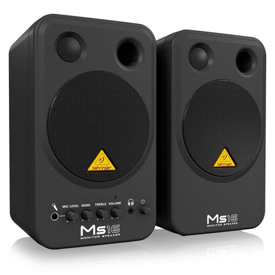 Behringer MS16 Active Monitor (Pair) - pmc.palenmusic - 3