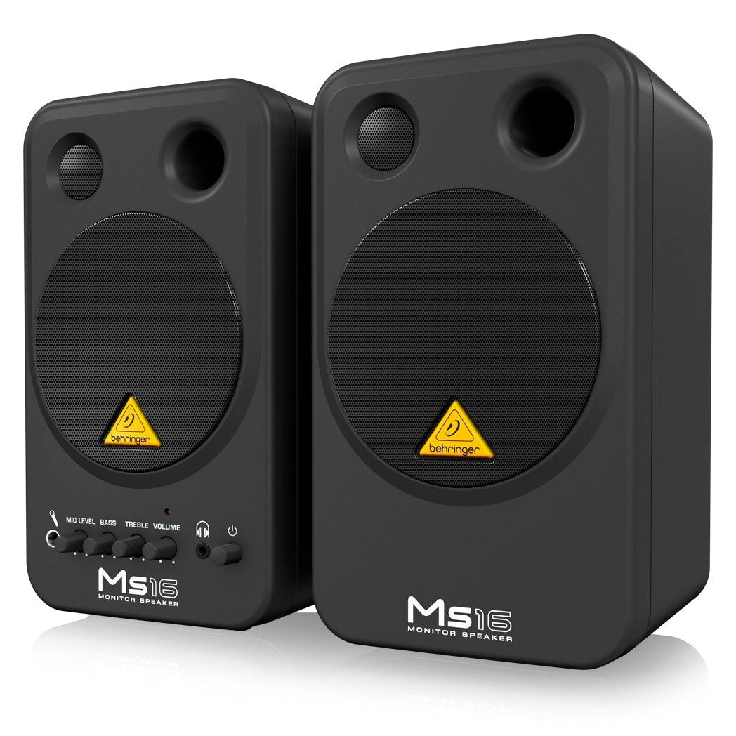 Behringer MS16 Active Monitor (Pair) - pmc.palenmusic - 4