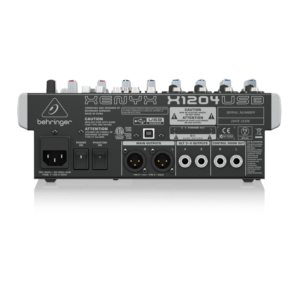 Behringer XENYX X1204USB - pmc.palenmusic - 4