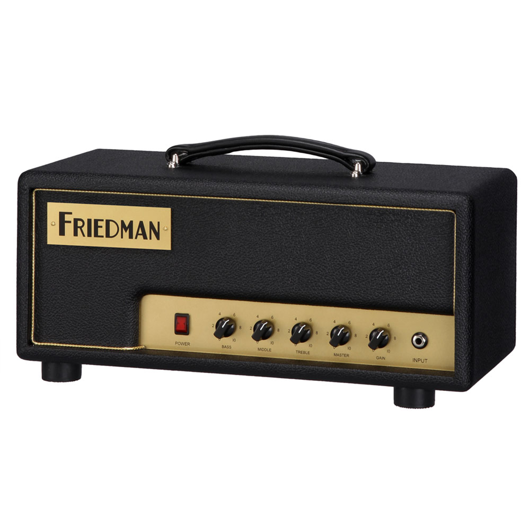 Friedman PT-20 - 20W 1-Channel Tube Head - pmc.palenmusic - 2