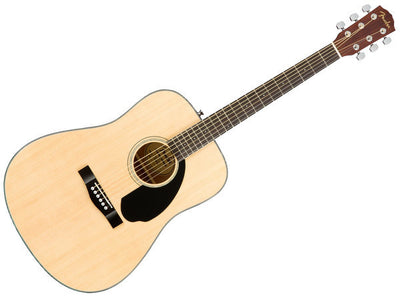 Fender CD-60S Dreadnought Acoustic Guitar Package - Natural
