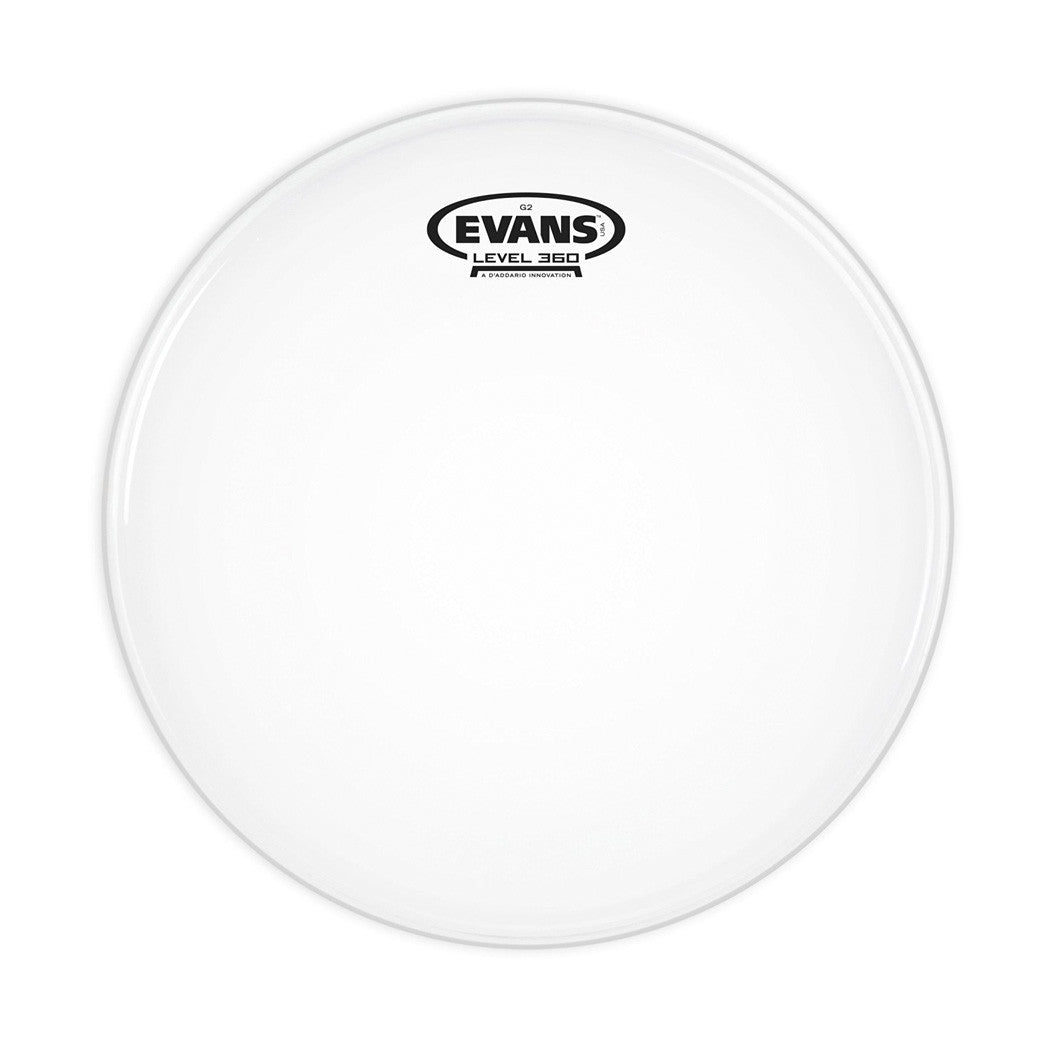 "Evans B12G2 Coated White General Snare/Tom/Timbale - 12"" - pmc.palenmusic - 1"