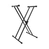 On-Stage KS7191 Classic Double-X Keyboard Stand | Palen Music
