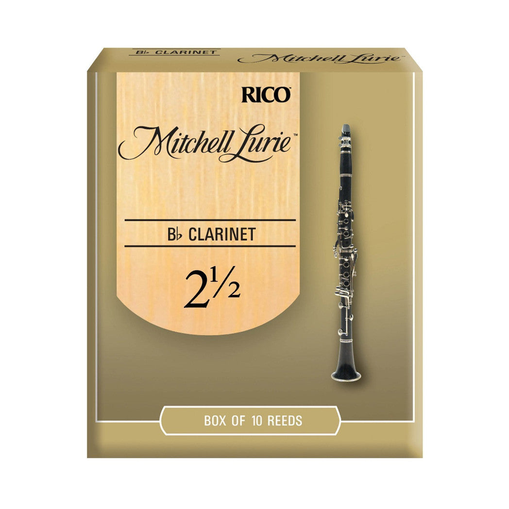 Mitchell Lurie MLCL25 Bb Clarinet Reeds - Box of 10
