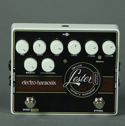 Electro-Harmonix Lester-G Deluxe Rotary Pedal | Palen Music