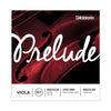 D'Addario Prelude Viola String Set - Medium Scale, Medium Tension