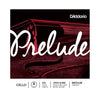 D'Addario Prelude Cello Single Strings - 4/4 Scale, Medium Tension - Palen Music