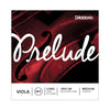 D'Addario Prelude Viola String Set - Long Scale, Medium Tension | Palen Music