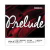 D'Addario Prelude Viola Single Strings - Long Scale, Medium Tension