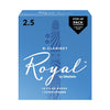 Rico Royal #2.5 Bb Clarinet - Step-Up 12-Pack | Palen Music