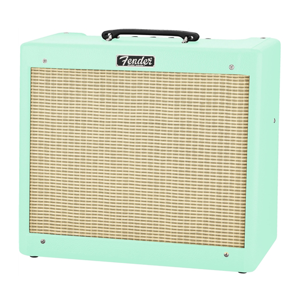 "Fender Blues Junior ""Surfs Up"" Limited Edition - 1x12"" Guitar Combo Amp - pmc.palenmusic"
