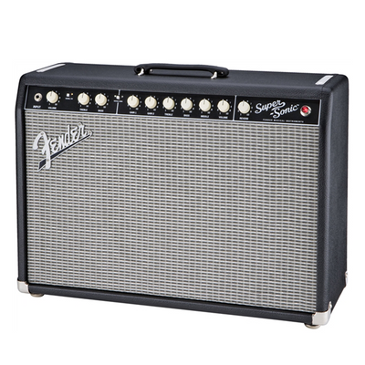 "Fender Super-Sonic 22 22W 1x12"" Guitar Combo Amp - pmc.palenmusic - 2"