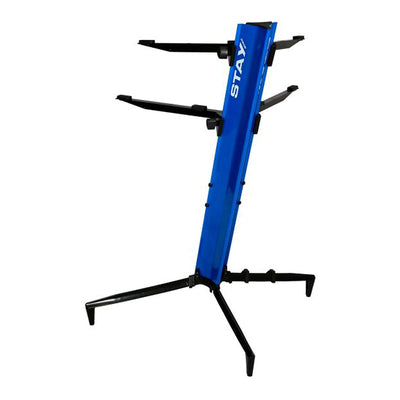 Stay Tower Double Tier Keyboard Stand (Blue)