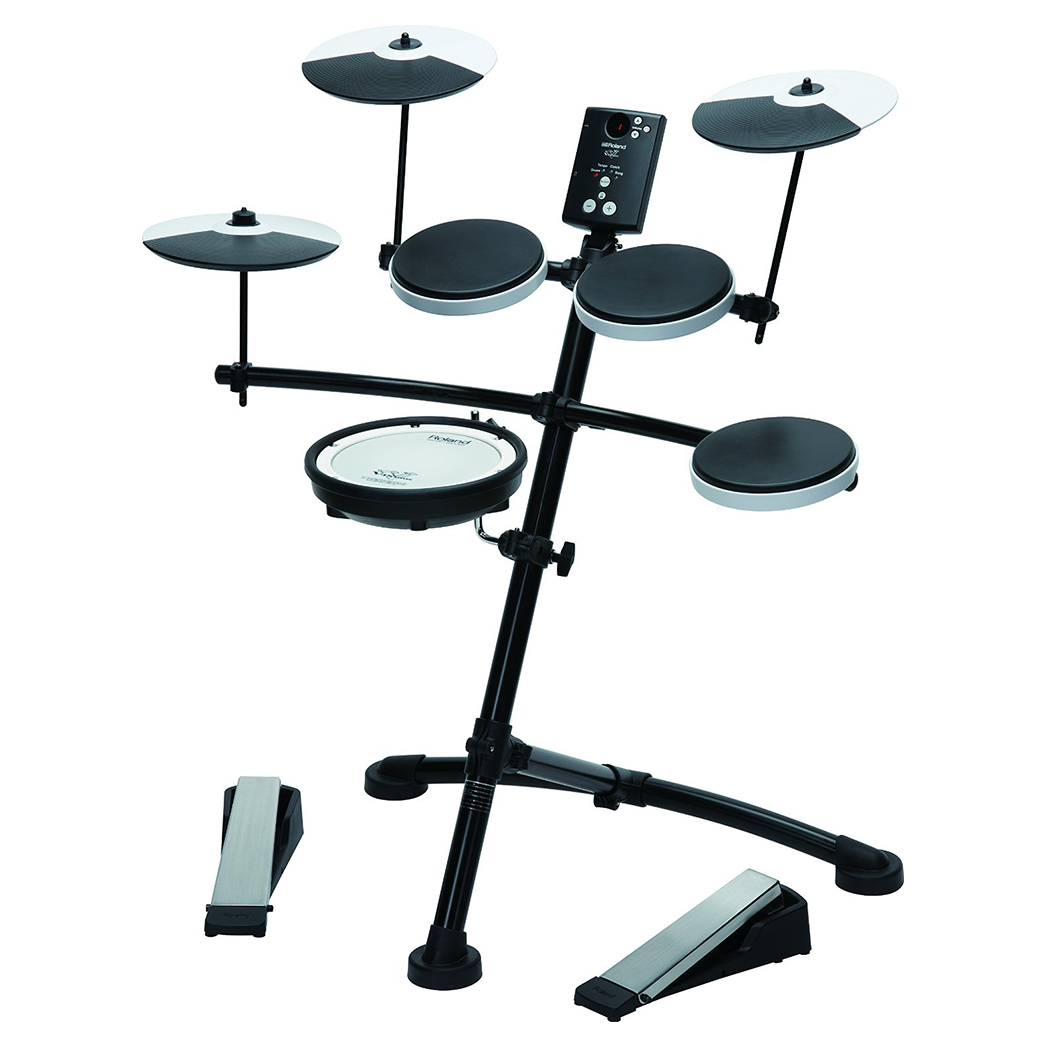 Roland TD-1KV 5-Piece Electronic Drum Kit with Mesh Snare - pmc.palenmusic - 2