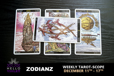 December 11th – 17th Weekly Tarot-Scope by Joan Zodianz