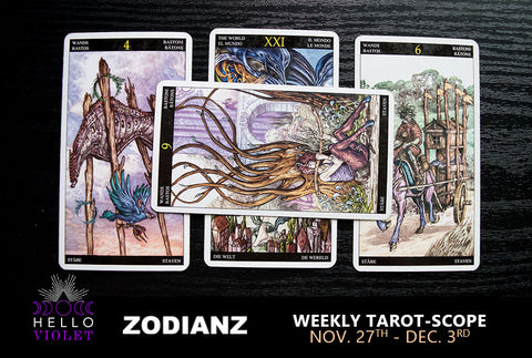 November 27 – December 03 Weekly Tarot-Scope by Joan Zodianz