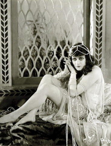 Theda Bara Window
