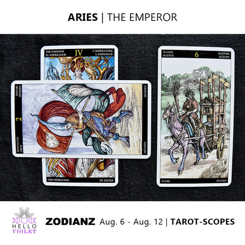 Aries Tarot-Scope August 6 - 12 2017