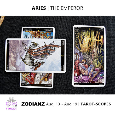 Aries Zodiac Tarot-Scopes August 13th - 19th