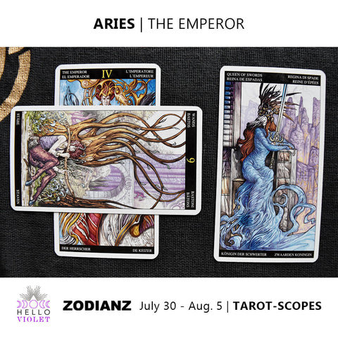 Aries Weekly Tarot-scopes July 30th - August 5th