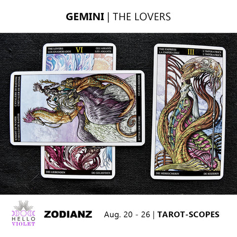 Gemini Zodiac Tarot-Scopes (Eclipse Special) August 20 - 26